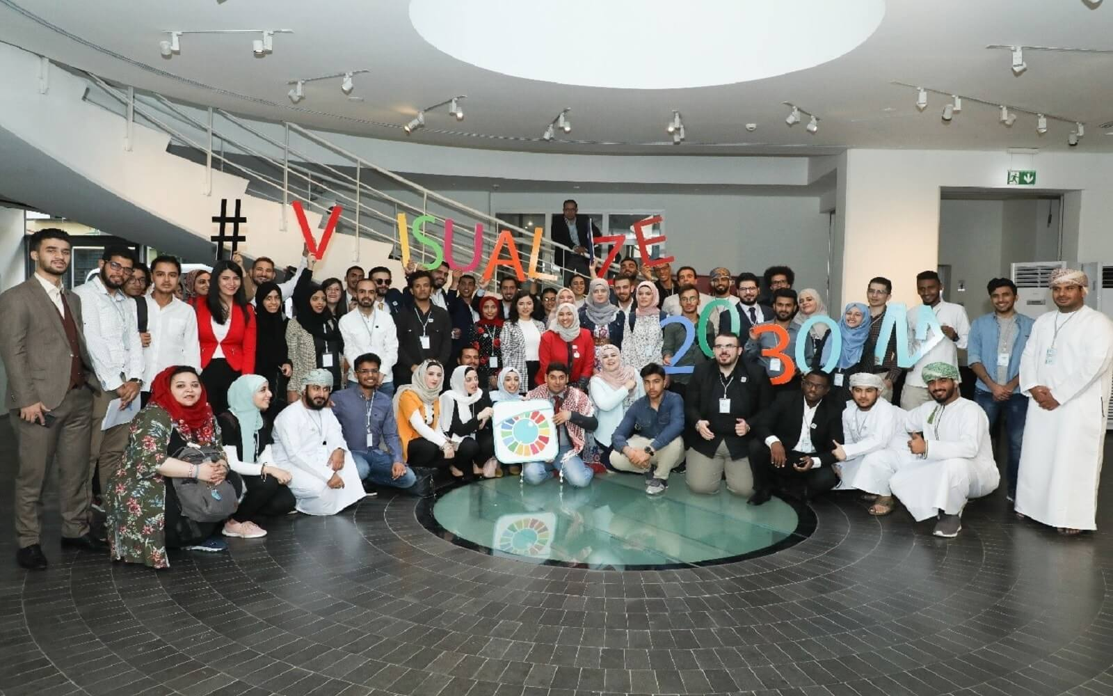The 2019 Visualize 2030 - Youth from the Arab region VISUALIZE their concerns on inequalities