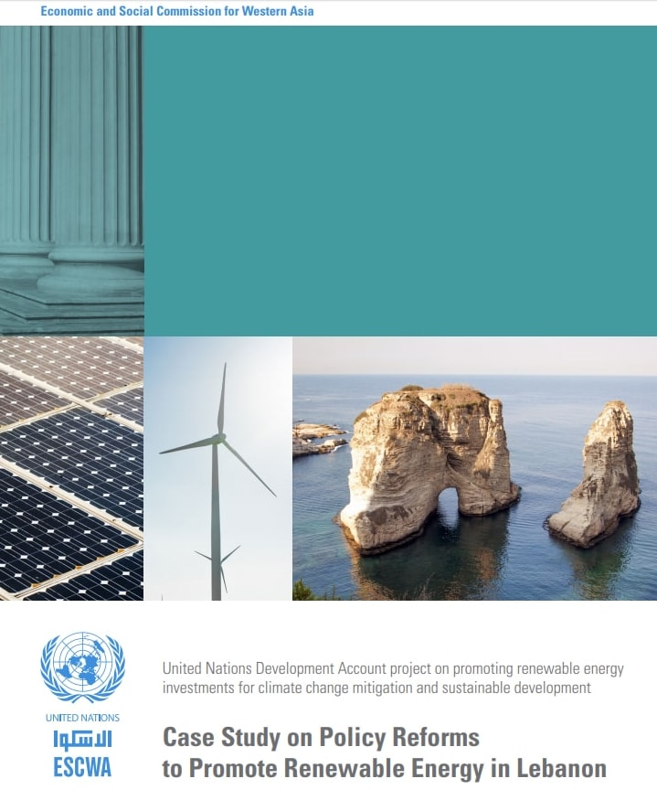 Case Study on Policy Reforms to Promote Renewable Energy in Lebanon