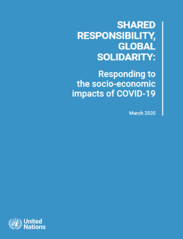 Shared Responsibility, Global Solidarity: Responding to the socio-economic impacts of COVID-19