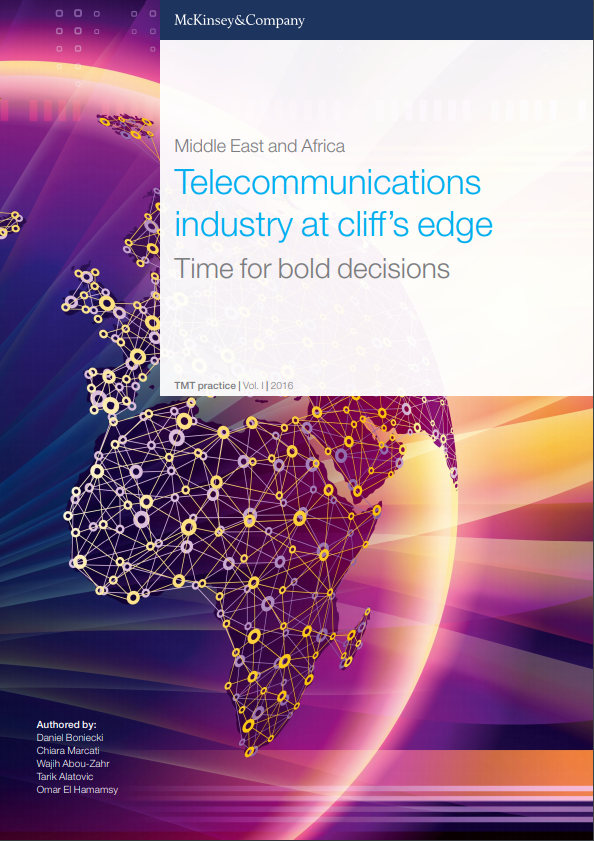 Telecommunications industry at cliff's edge, Time for bold decisions